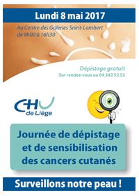 94e4d7fb378589 Site CHU - Journée de dépistage et de sensibilisation des cancers ...